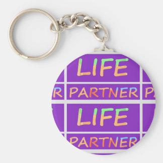 Perfect : LIFE Partners Key Chain