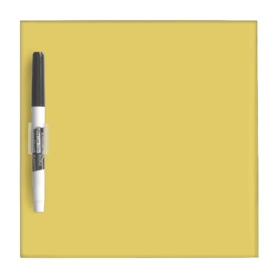 Perfect Light yellow Dry-Erase Board