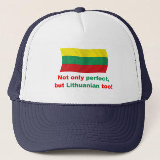 Perfect Lithuanian Trucker Hat