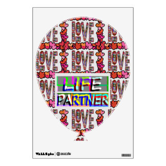 Perfect : Love LIFE Partner Wall Sticker