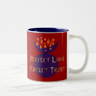 Perfect Love Perfect Trust Two-Tone Coffee Mug