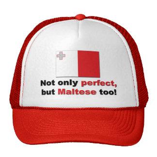 Perfect Maltese Trucker Hat
