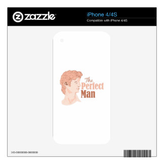 Perfect Man Skins For iPhone 4S