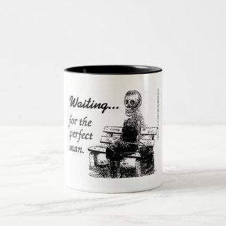 Perfect man. Two-Tone coffee mug