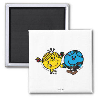 Perfect Match 2 Inch Square Magnet