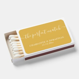 Perfect Match Personalized Wedding Favor