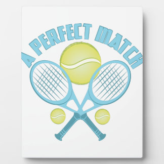 Perfect Match Plaque
