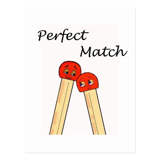 Perfect Match Postcard