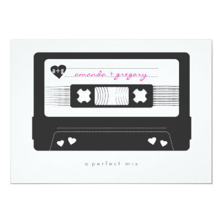 Perfect Mix Save the Date 5x7 Paper Invitation Card