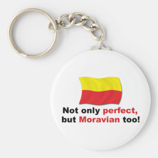 Perfect Moravian Keychain