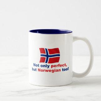 Perfect Norwegian Two-Tone Coffee Mug