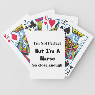 Perfect Nurse Bicycle Playing Cards
