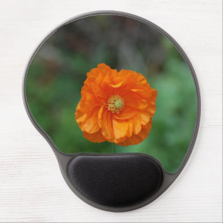 Perfect Orange California Poppy Gel Mouse Pads