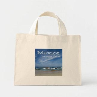 Perfect Pacific; Mexico Souvenir Mini Tote Bag