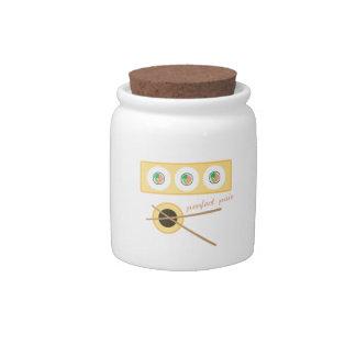 Perfect Pair Candy Jar