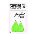 Perfect Pair Postage Stamp
