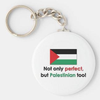 Perfect Palestinian Basic Round Button Keychain