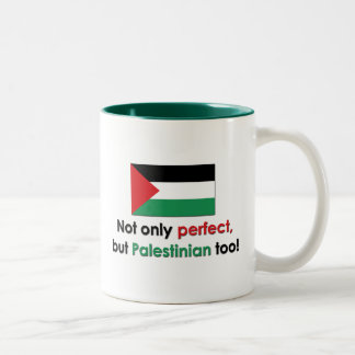 Perfect Palestinian Two-Tone Coffee Mug