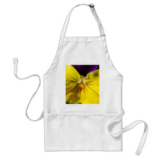 Perfect Pansy Design Adult Apron