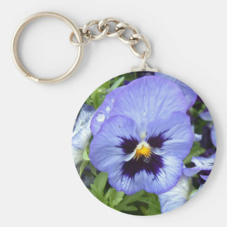 Perfect Pansy Keychain