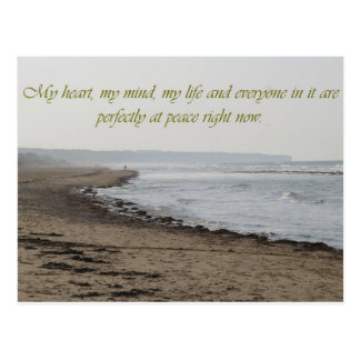 perfect-peace postcard