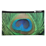 Perfect Peacock Close Up Cosmetic Bags