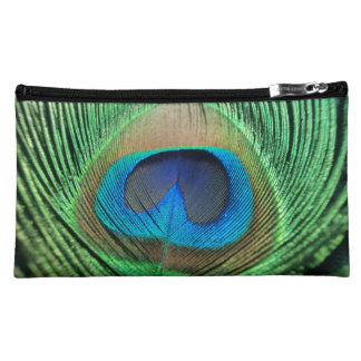 Perfect Peacock Close Up Makeup Bag