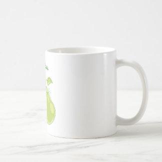 Perfect Pear Classic White Coffee Mug