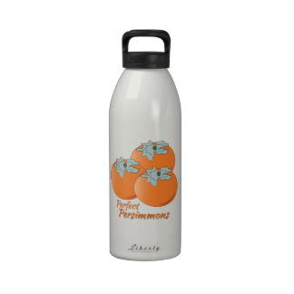 Perfect Persimmons Reusable Water Bottle