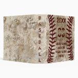 Perfect Personalized Baseball Senior Night Gifts Binders