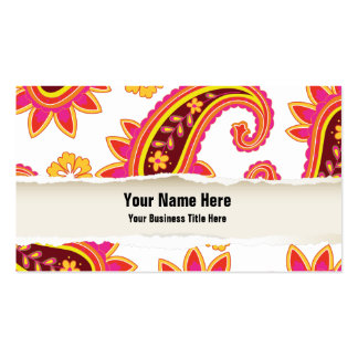 Perfect Pickles Paisley Business Card