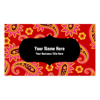 Perfect Pickles Paisley Business Card Templates
