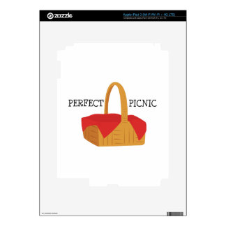 Perfect Picnic Decal For iPad 3