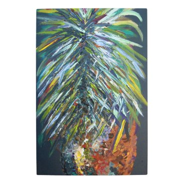Art Themed Perfect Pineapple Metal Print
