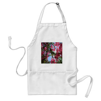 Perfect Pink Bougainvillea In Blossom Adult Apron