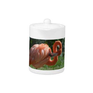 Perfect Pink Flamingo Teapot