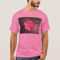 Perfect Pink Flowering Quince T-Shirt