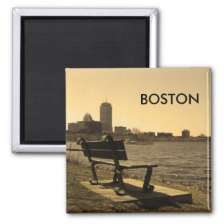 Perfect place to view the Charles 2 Inch Square Magnet