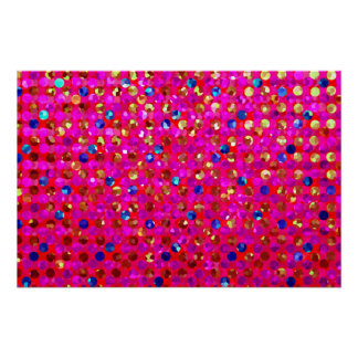 Perfect Poster Polka Dot Sparkley Jewels