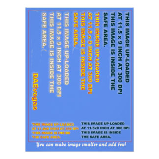 "Perfect Poster Template 20"" X 26"" 35 colors Plus"