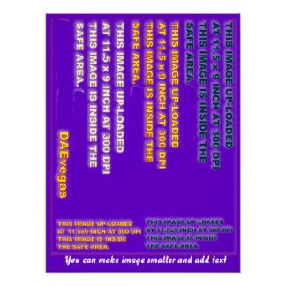 Perfect Poster Template 20 X 26 35 colors Plus