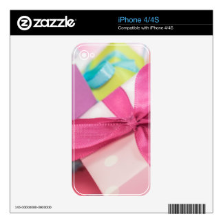 Perfect Pretty Presents iPhone 4S Decal