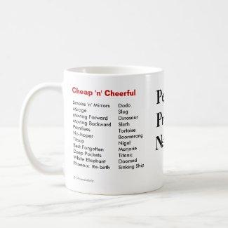 Perfect Project Names! Funny mug