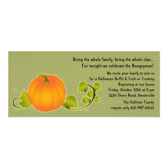 Perfect Pumpkin Invitation
