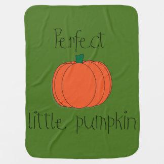 Perfect Pumpkin Swaddle Blanket