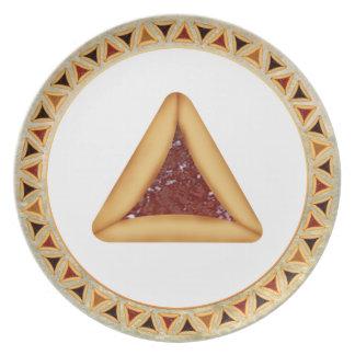Perfect Purim Plate