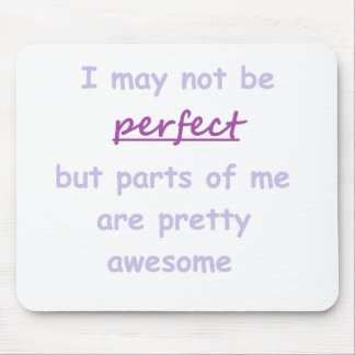Perfect quote mouse pad