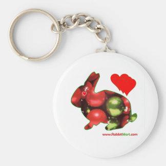 Perfect Rabbit Lover Christmas Keychain