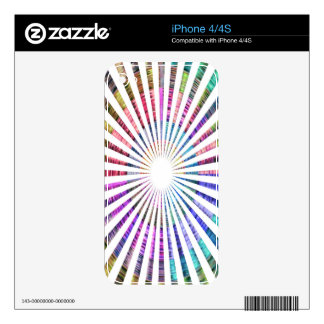 Perfect Rainbow Weave - Inspired by SUN Decals For iPhone 4S