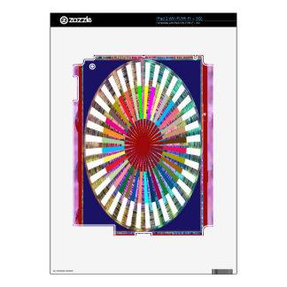 Perfect Rainbow Weave - Inspired by SUN iPad 2 Skins